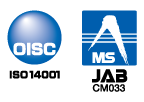 OISC登録マークとJABの認定シンボル