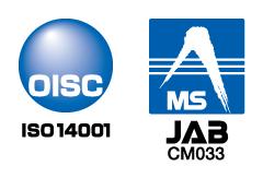 OISC登録マーク・JAB認定シンボル